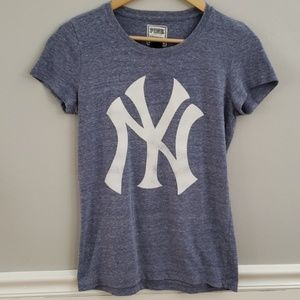 Victoria's Secret PINK MLB Baseball NY Yankees Top
